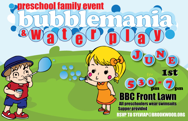 Preschool Bubblemania & Water Play