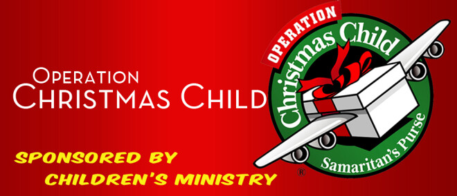 Operation Christmas Child (Shoebox Ministry)