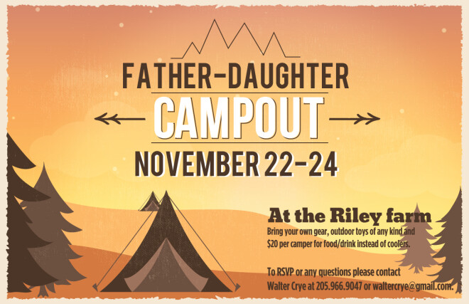 Father/Child Campout