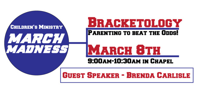 Children's Ministry March Madness - Bracketology