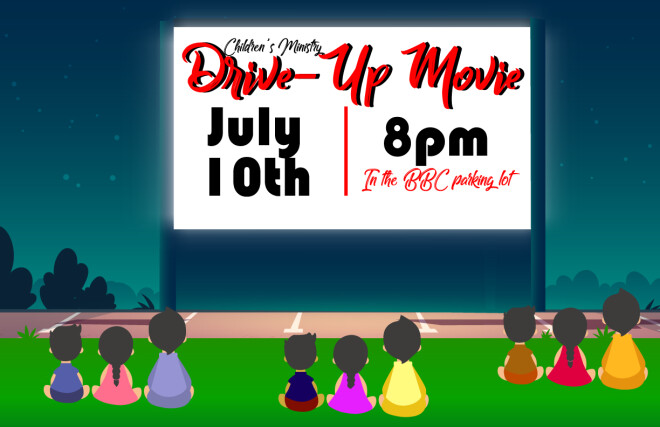 Children's Ministry - Drive-Up Movie