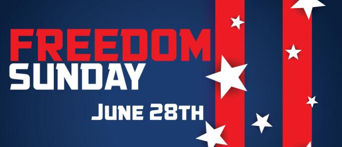 Freedom Sunday with Will Markham