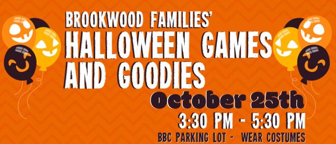 Brookwood Families' Halloween Games and Goodies