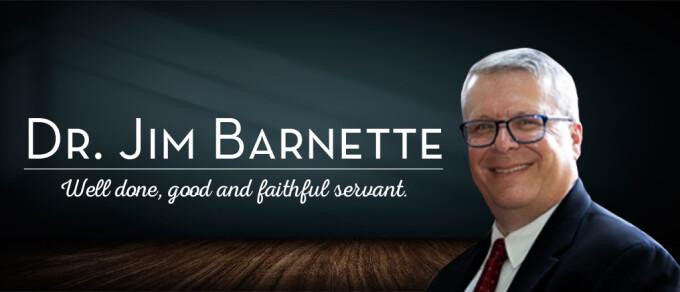 Service of Remembrance for Dr. Jim Barnette