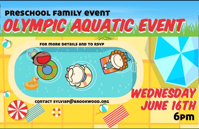 Preschool Ministry - Olympic Aquatic Event